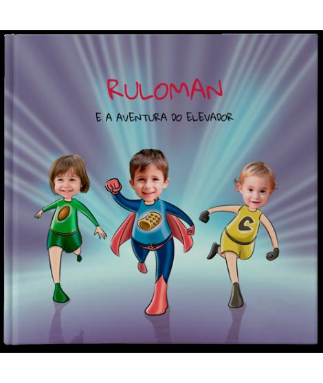 Ruloman e a aventura do elevador