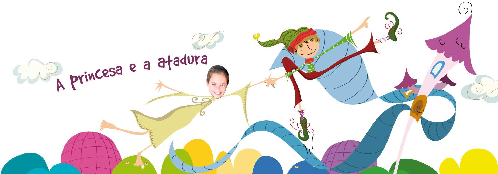 Livros personalizados para crianças: O conto de princesas - Cabeçalho do produto