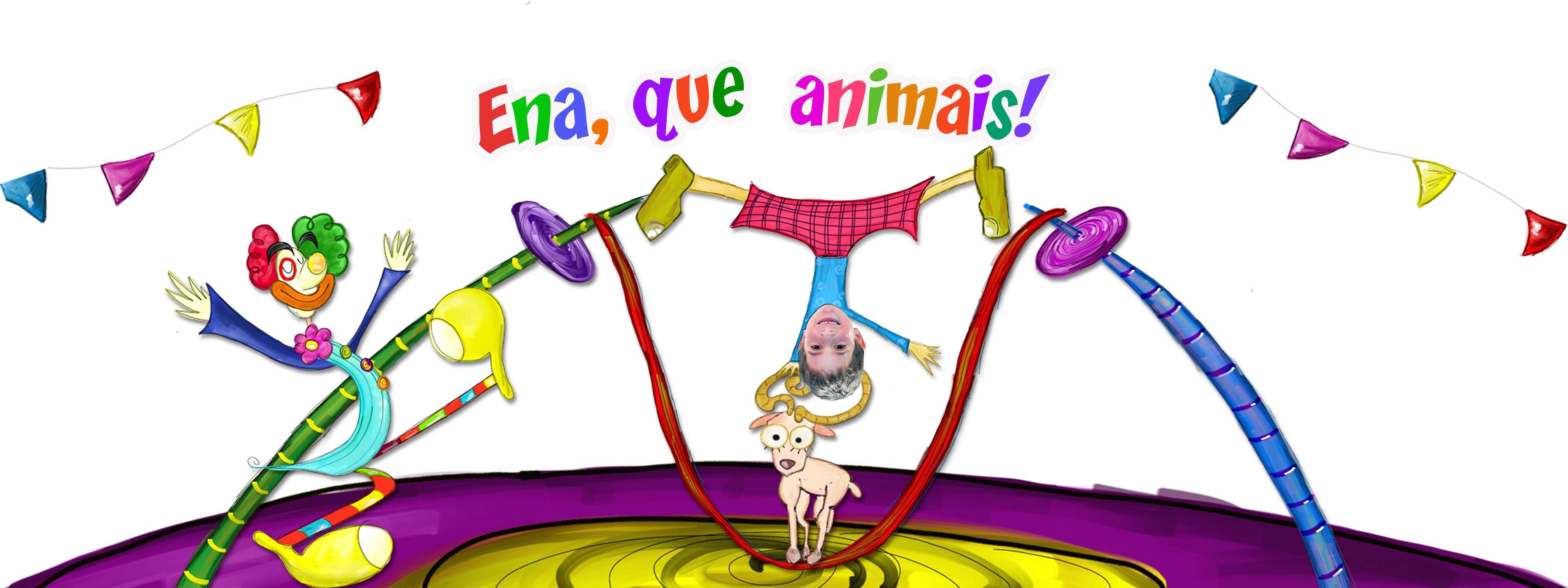 Prendas para crianças: conto do circo e os seus animais - Cabeçalho do produto