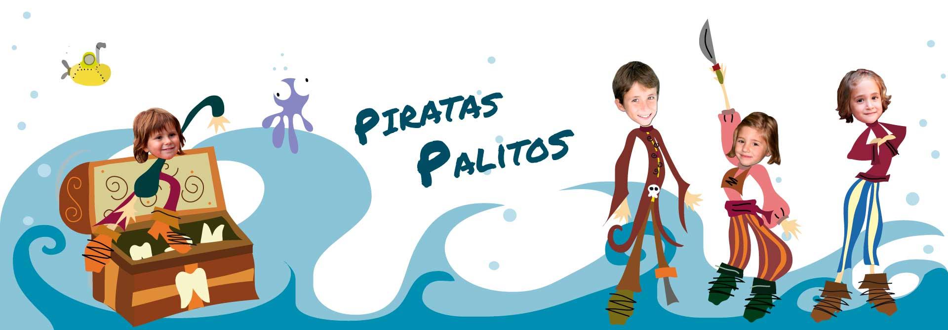 Contos infantis: Um conto personalizado de piratas - Cabeçalho do produto